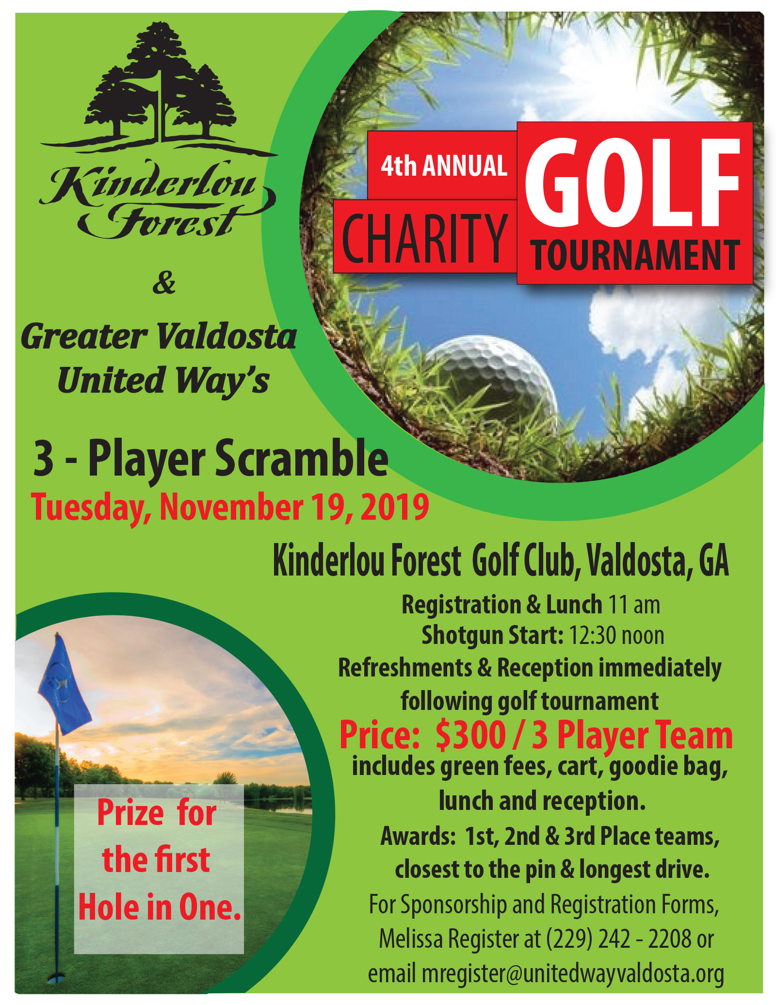 4th Annual Charity Golf Tournament Brochure